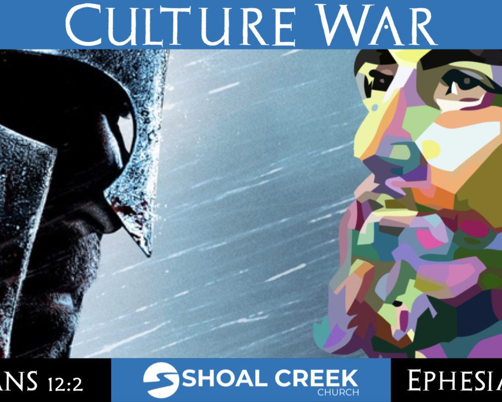 The Internal Culture War (Galatians 5:16-26)