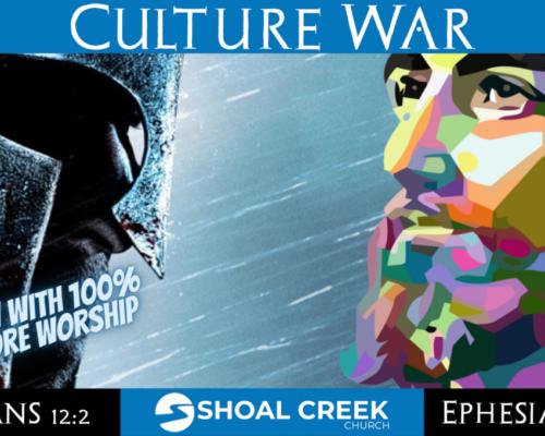 The Internal Culture War (Galatians 5:16-26) – Full Service